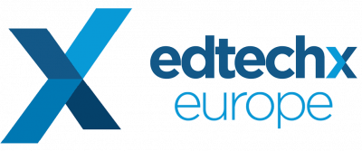 Edtech X Europe Award Logo showcasing Satchel as winners of EdtechXRise All Stars award in 2016