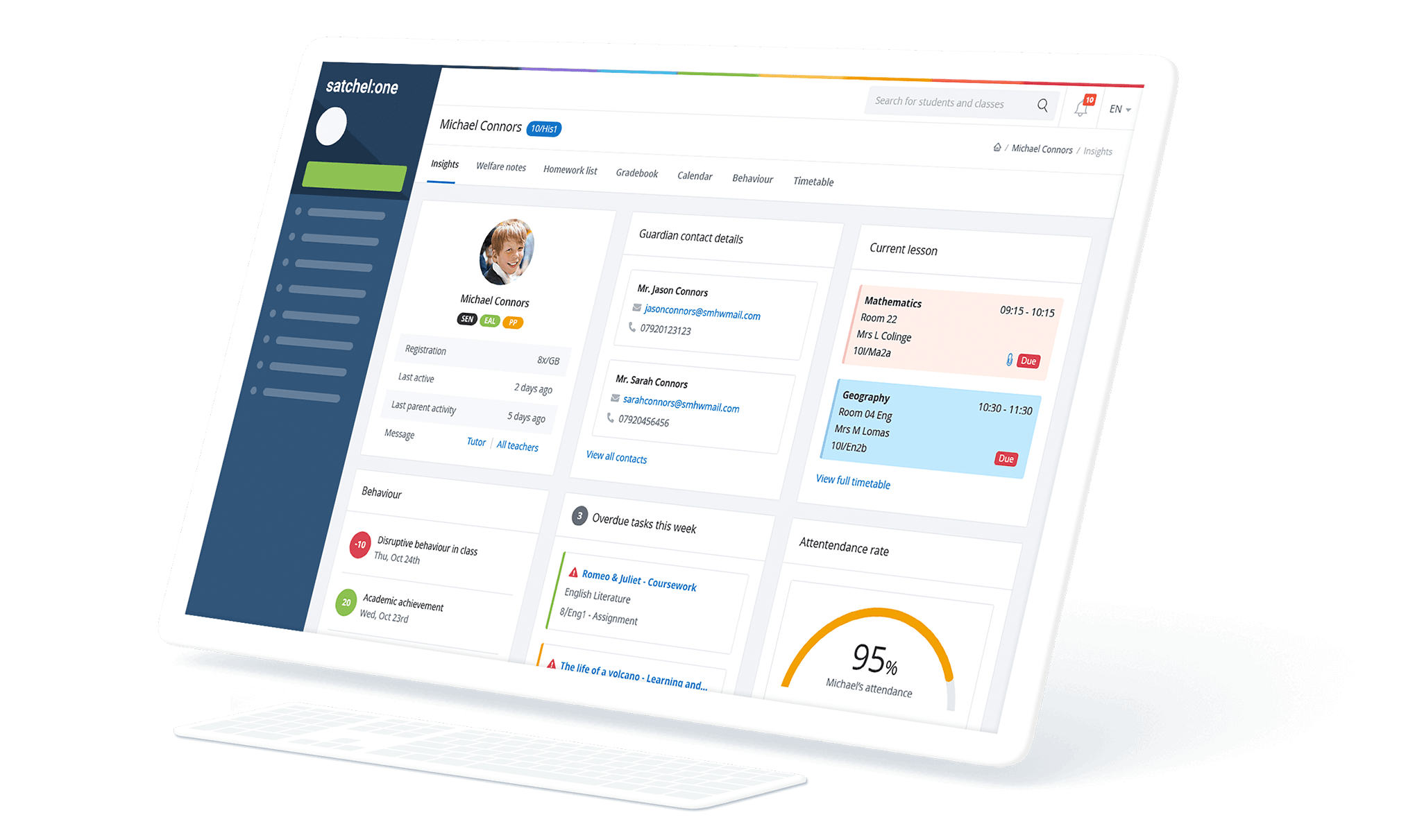 Image of Student Insights on Satchel One
