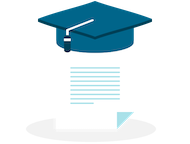 Certificate with a graduation cap showing teachers can spend more time teaching by using Show My Homework