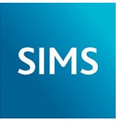 SIMS logo who integrate with Satchel One