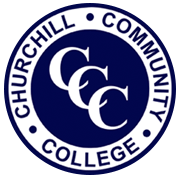 Logo for Churchill Community College, customers of Satchel One