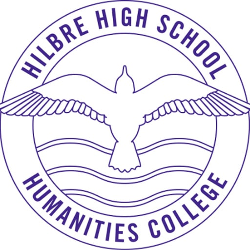 Logo for Hilbre High School, a Satchel One customer.