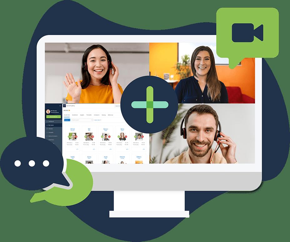 Image depicting a live product walk-through of Satchel One's Behaviour app