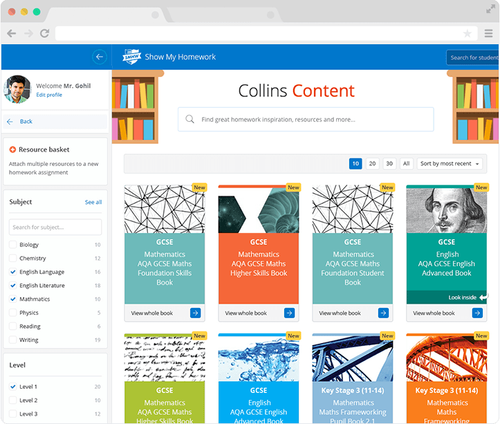 Collins teaching resources for secondary schools