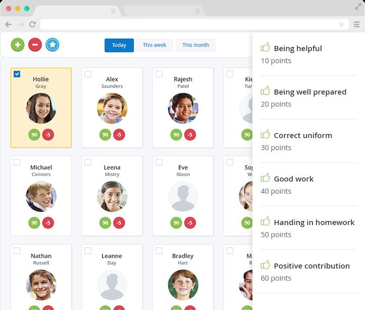 Behaviour software for every classroom