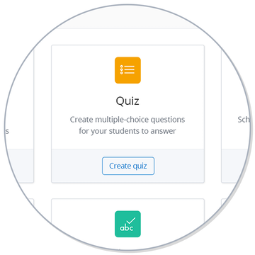 Magnified Show My Homework online Quiz creation