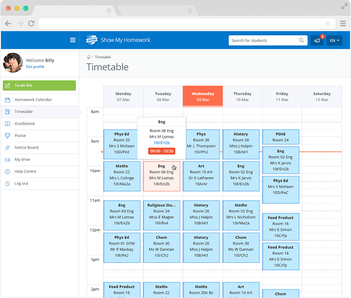 Timetable software for easy school mangagement
