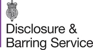 Disclosure and Barring Service logo showing teachers are safe and certified for online tutoring