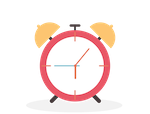 Alarm clock showing quick and high quality homework setting using Show My Homework differentiated feature