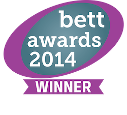Bett award 2014 winning logo for Show My Homework