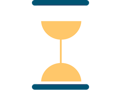 Hourglass showing how Show My Homework saves valuable teaching time