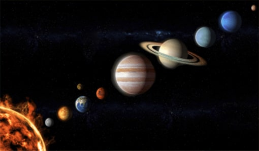 Into the Solar System